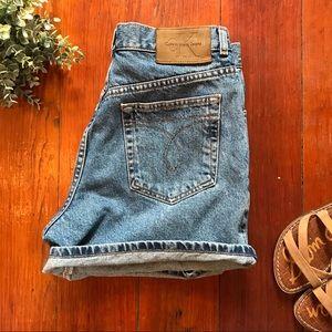 Vintage Calvin Klein High Wasted Short